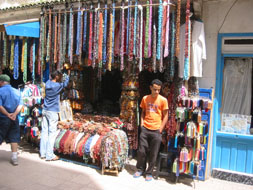 Jewery seller in Morroco: Sharon Levy
